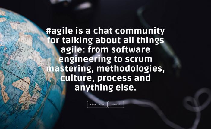 #agile slack channel – http://hashtagagile.com
